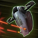 Rotating Twin Blaster Cannons