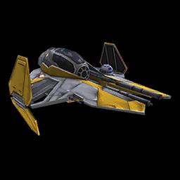 Anakin's Eta-2 Starfighter